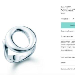 Tiffany&Co Sevillana Ring